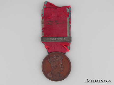 Medal for the Africa Campaign Obverse
