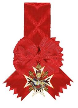 Order of Saint Januarius, Knight's Cross (in gold) Obverse