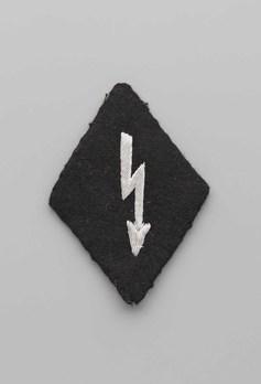 SS-VT Signals Officer Trade Insignia Obverse