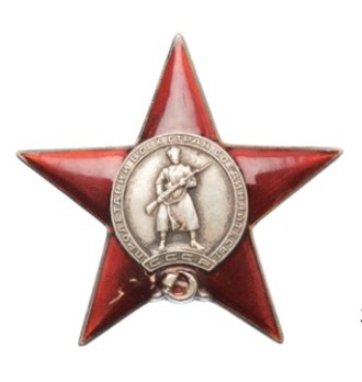 Type I, Star Medal (in silver)