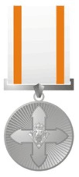 Silver medal 1991 obverse