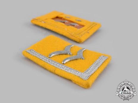 Luftwaffe Flying Troops Unterfeldwebel Collar Tabs