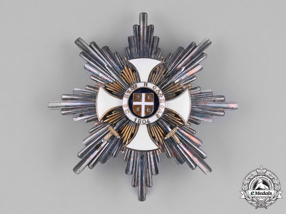 Order+of+the+star+of+karageorg%2c+military+division%2c+i+class+breast+star+1