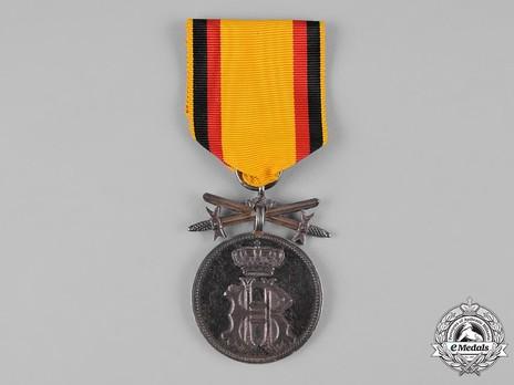 Merit Medal (Reuss-Lobenstein-Ebersdorf), in Silver Obverse