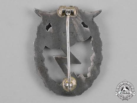 Ground Assault Badge, by G. H. Osang Reverse