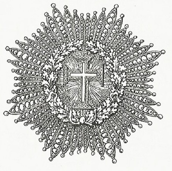 Supreme Order of Christ, Breast Star Obverse