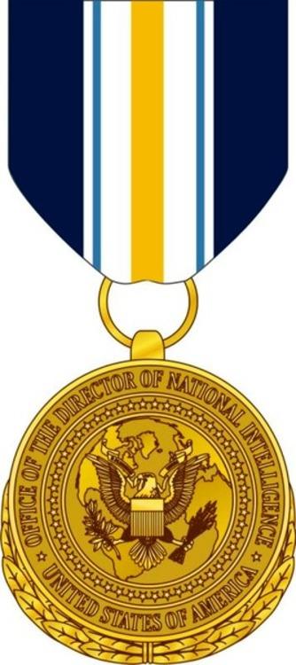 National intelligence distinguished public service medal 2