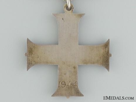 Silver Cross (1937-1948) Reverse
