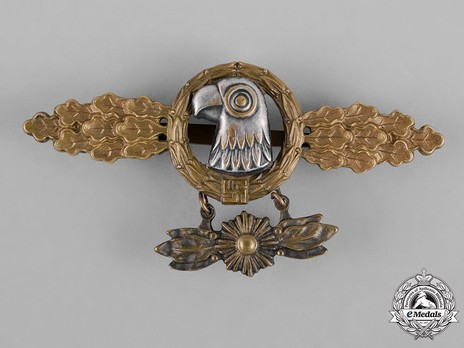 Reconnaissance Clasp, in Gold (with star pendant) Obverse
