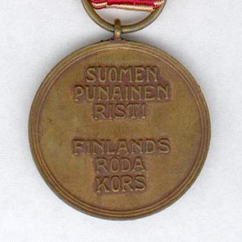 Cross of Merit of the Finnish Red Cross, Bronze Medal Reverse