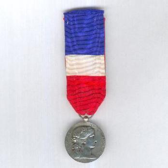 "Silver Medal (Ministry of War, stamped ""E M LINDAUER"") Obverse"