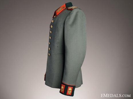 German Army General's Dress Tunic Left Side