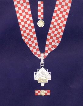 Order of Duke Branimir Medal Obverse