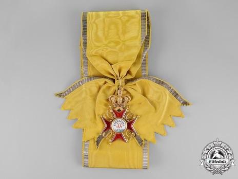Grand Cross (1803-1918) (regular swivel hinge variation) Obverse with Ribbon