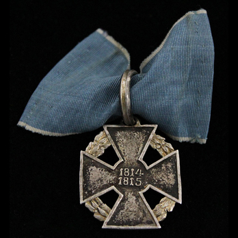 Campaign Honour Cross, 1814-1815, in Silver