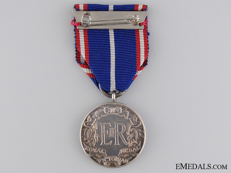 Royal Victorian Medal, in Silver (Victoria) Reverse
