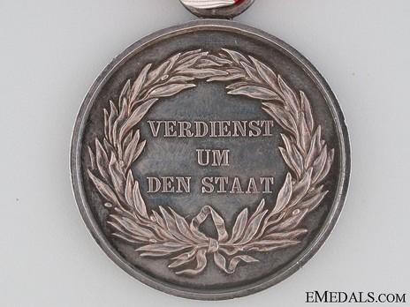 Type II, II Class Medal (1820-1847, in silver)