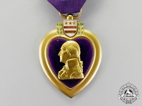 Purple Heart (Officially Engraved)