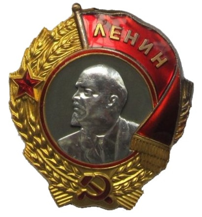 Kiselev%27s order of lenin %28cropped%29