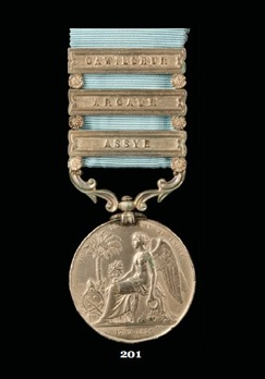 Army of India Medal with Gawilghur Clasp