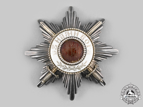 Order of St. Alexander, Type II, Military Division, II Class Breast Star