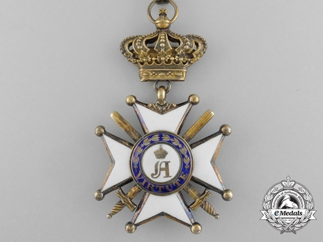 Order of Civil and Military Merit of Adolph of Nassau, Commander with Crown, in Gold (Military Division)