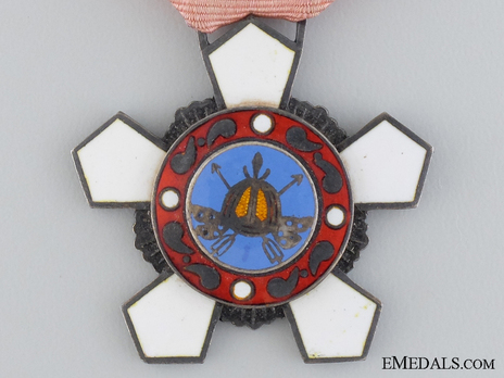 Order of Military Merit, Type III, IV Class (Hwarang) Obverse