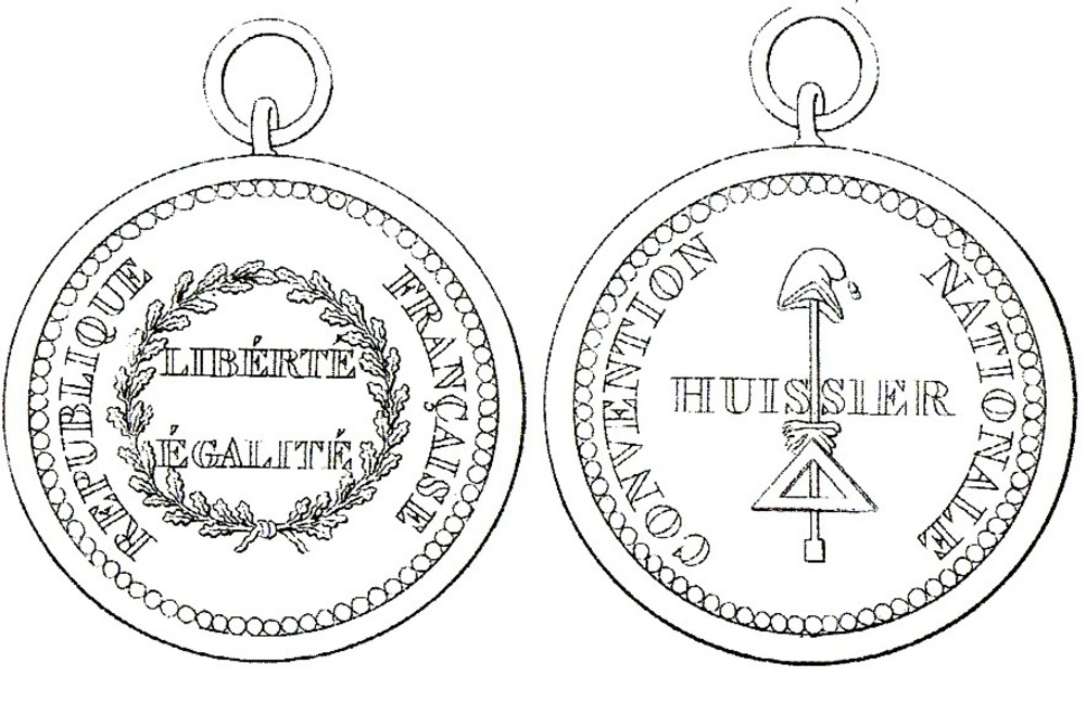 Medal for ushers