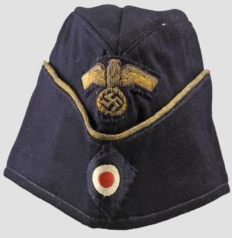Kriegsmarine Blue Officer Ranks Board Cap (Bullion version) Obverse