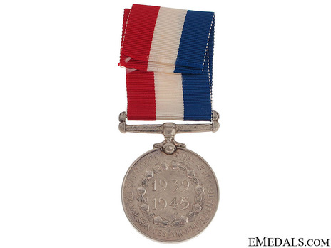 South African Medal for War Service Reverse