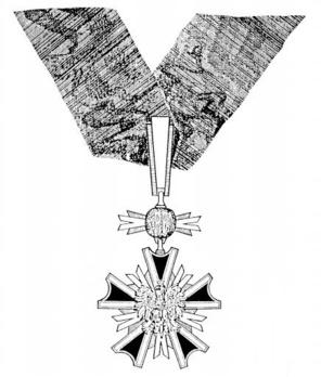 Order of Merit, Commander Obverse