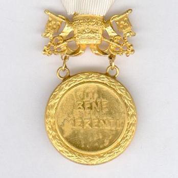 Bene Merenti Medal, Type IX, Gold Medal Reverse