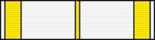 III Class Medal (for National Heritage, 2000-) Ribbon