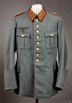 German Army General's Old Style Service Tunic Obverse