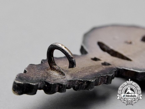 Reconnaissance Clasp, in Silver (in tombac) Detail
