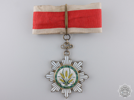 Order of the Golden Grain, III Class Commander Obverse