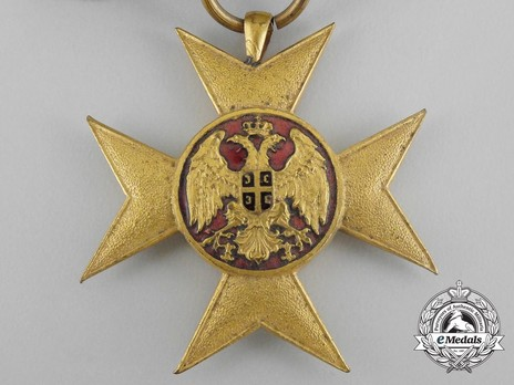 Cross of Charity, in Gold (large medaillion) Obverse Detail