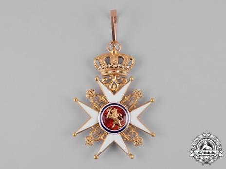Order of St. Olav, Civil Division, I Class Commander