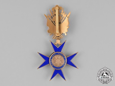 Order of Our Lady of Bethlehem, Grand Officer Reverse