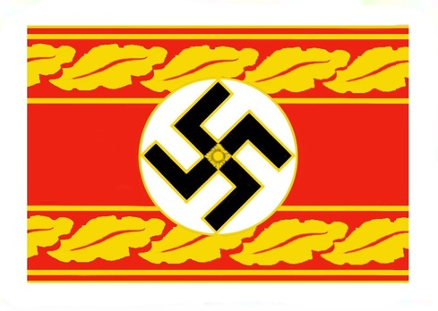 NSDAP Reichsleiter Type II Reich Level Armband Obverse