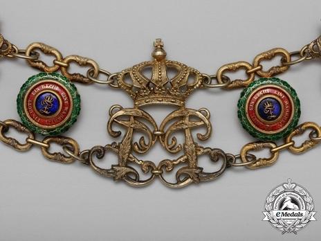 House Order of Duke Peter Friedrich Ludwig, Collar (1865-1918)