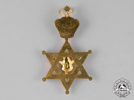 Order of the Queen of Sheba, Grand Cross Reverse