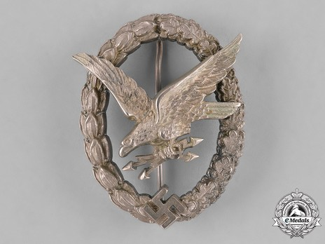 Radio Operator & Air Gunner Badge, by Jmme (in nickel silver) Obverse