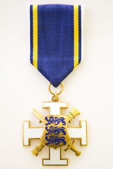 Merit Cross for the General Staff of the Estonian Defence Forces Obverse