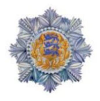 Order of the National Coat of Arms, I Class Breast Star Obverse