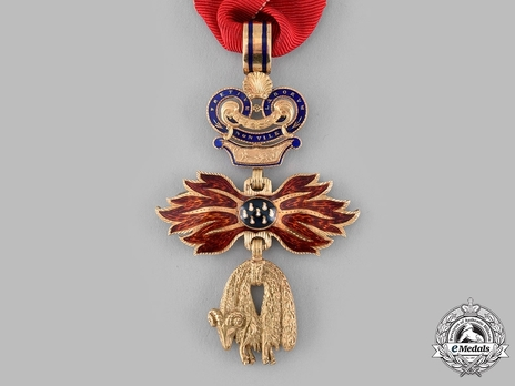Order of the Golden Fleece, Neck Decoration (in Gold, by Rothe, c. 1925)