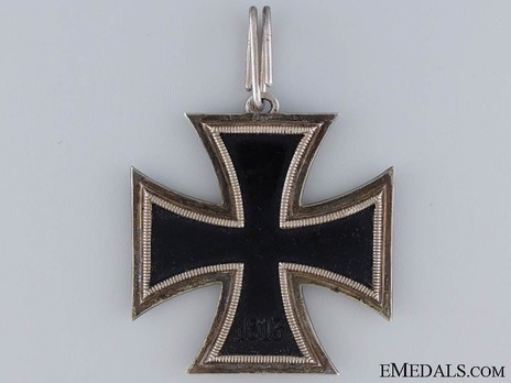 Knight's Cross of the Iron Cross, Three-Quarter Ring Reverse