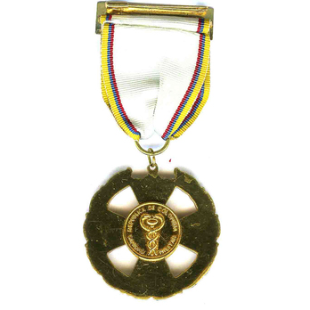 José Fernández Madrid Order of Medical Merit, Knight Reverse