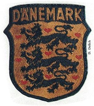 German Army Denmark Sleeve Insignia Obverse