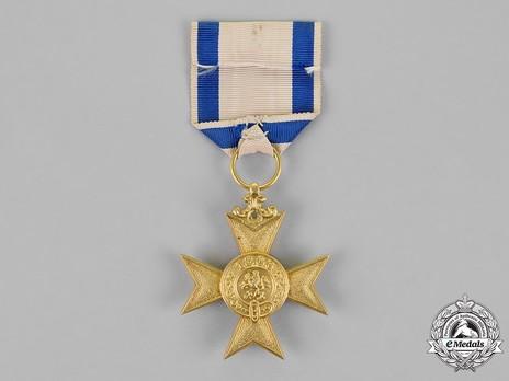 Order of Military Merit, I Class Military Merit Cross Reverse